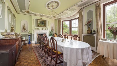 One of the stunning interiors at Layham Park, on the market with David Burr Picture: CHEVRON PHOTOGR