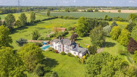 Layham Park is on the market with a guide price of £2million from David Burr in Leavenheath Picture: