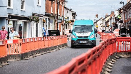 A Hadleigh Town Council meeting on Thursday voted to remove the barriers as soon as possible, but th