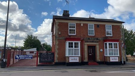 The Kings Arms in Stowmarket where the explosion took place on Saturday night Picture: SARAH LUCY BR
