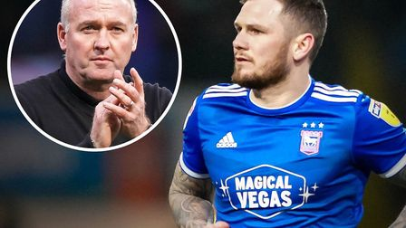 Paul Lambert has spoken about the future of Ipswich Town striker James Norwood. Picture: ARCHANT