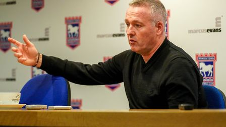 Ipswich Town manager Paul Lambert has signed three players this summer. Photo: Steve Waller