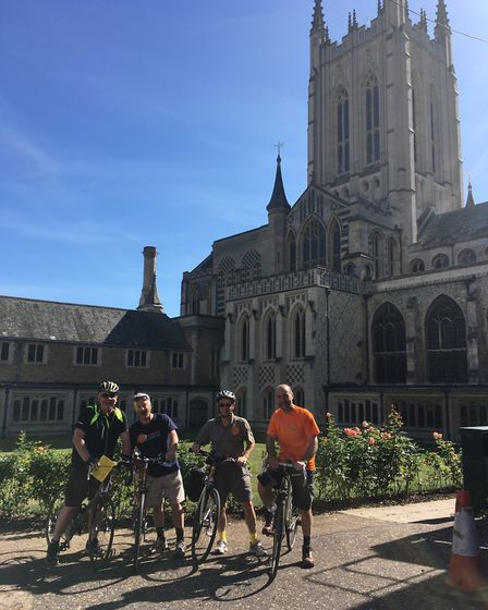 Riders at St Edmundsbury cathedral in Bury St Edmunds last year. Picture: RACHEL SLOANE