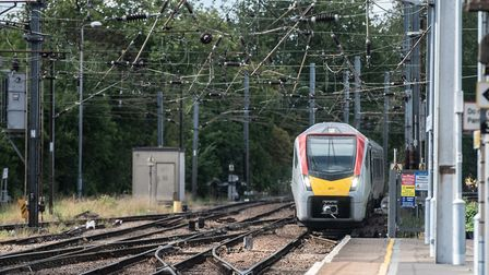 There will be no trains from Ipswich to Norwich and Bury St Edmunds on Sunday. Picture: SARAH LUCY B