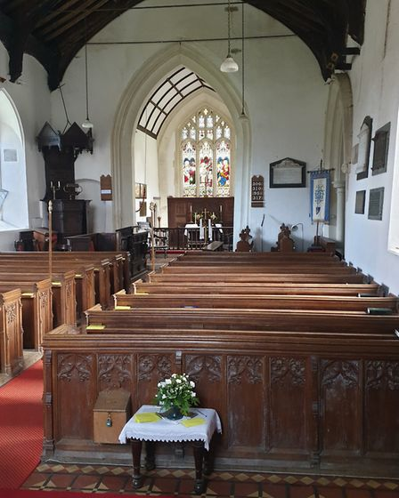 St Mary's Church in Dallinghoo, Suffolk, is set to benefit from £15,000 in funding from The National