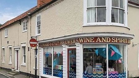 The former Adnams off-licence in Southwold, located on Pinkney's Lane, will become a pop-up antique
