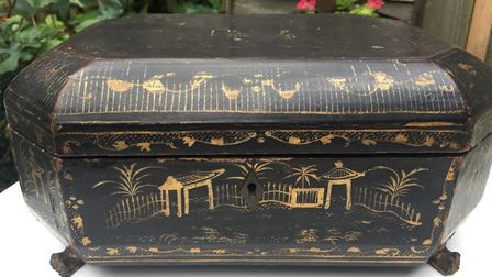 A 19th century Chinoserie box Picture: Jenny Cook