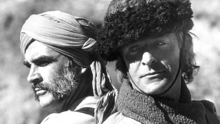Sean Connery (left) and Michael Caine in Rudyard Kipling's The Man Who Would Be King, Connery's own