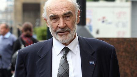 Sir Sean Connery, one of the greatest stars that Britain has ever produced Picture: ANDREW MILLIGAN/