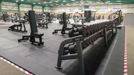 New equipment is available for use at the leisure centre: Picture: SIMON LEE PHOTOGRAPHY/MID SUFFOLK