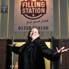 Amanda Bradshaw, owner of The Filling Station in Debenham Picture: SARAH LUCY BROWN