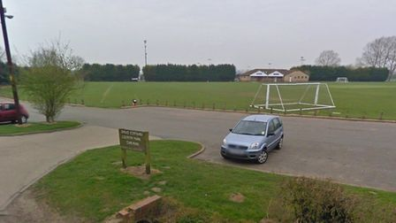 The victim was assaulted in Blackhouse Lane, near the entrance to the Cornard Country Park. Picture: