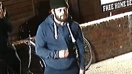 Essex Police fear the man pictured may have been hurt in a collision in Colchester Picture: ESSEX P
