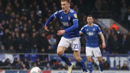 Flynn Downes was one of Ipswich Town's star performers last season. Photo: Ross Halls