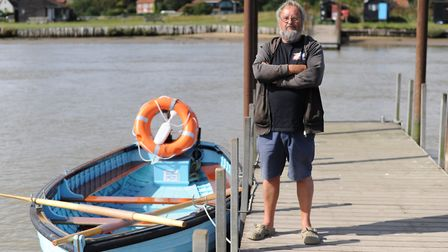 Walberswick local Luke Jeans said some crabbers have become aggressive when challenged over social d
