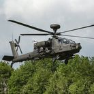 An Apache helicopter at RAF Wattisham. Stock photo. Picture: SARAH LUCY BROWN