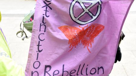 The charges were made after Extinction Rebellion held a protest in Cambridge. Picture: CHARLOTTE BON
