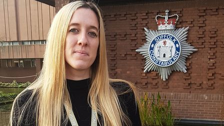 Det Insp Holly Evans, of Suffolk Constabulary Picture: RACHEL EDGE