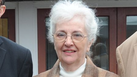 Joan Girling has brought the action against East Suffolk Council Picture: Alex Fairfull