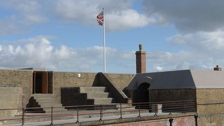 Explore Felixstowe's Landguard Fort online during the Heritage Open Day weekends Picture: SARAH L