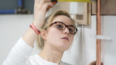 Isabella Stagg enjoys fixing things - but also finds helping people rewarding. Picture: WEST SUFFOLK