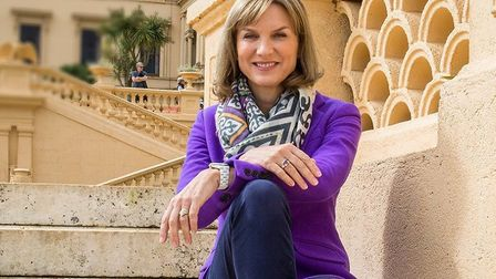 Fiona Bruce will be bringing the Antiques Roadshow -one of the BBC's most popular programmes - to Ip
