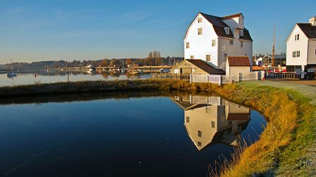 Woodbridge Tide Mill Picture: PETER CUTTS