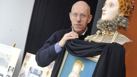 Yoxford artist Michael Stennett who died at home aged 74 Photo: Su Anderson