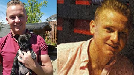 Corrie McKeague, who went missing following a night out in Bury St Edmunds in 2016