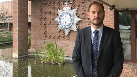 Detective Superintendent Eamonn Bridger said the human remains found in Sudbury belong to a man Pict