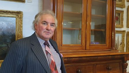 Graham Hessell, the new owner of Melford Antiques, Interiors and Lifestyle Centre in Long Melford. P