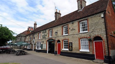 The George and Dragon in Long Melford. Picture: FILE/PHIL MORLEY