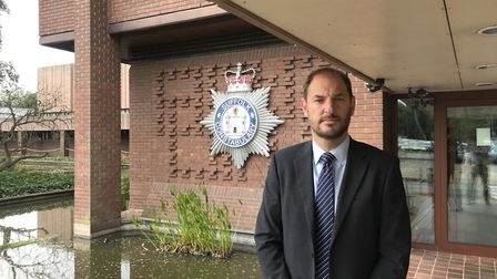 Detective Superintendent Eamonn Bridger said domestic abuse could not be excused. Picture: ARCHANT