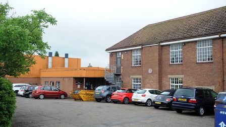 The former Stowmarket Middle School site. Picture: PHIL MORLEY
