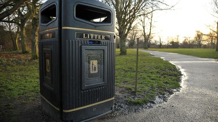 Emptying litter bins is among public realm services which could be brought back in house at Babergh