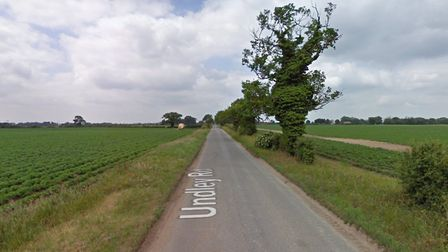 Undley Road, Undley has been closed following a serious crash between two cars. Picture: GOOGLE MAPS