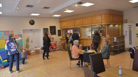 Customers include the groups and classes that use the centre Picture: SONYA DUNCAN