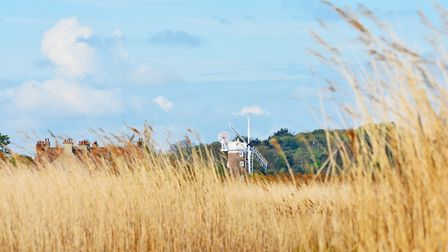 Cley marsh and beach Picture: DAVID THACKER