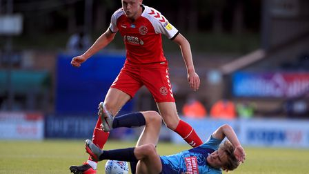 Harry Souttar has returned to parent club Stoke after playing a key role for Fleetwood last season.