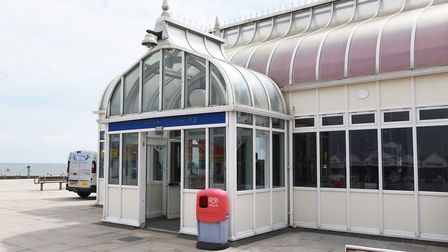 East Point Pavilion in Lowestoft has already secured �720,000 in Towns Fund cash for its revamp. Pic