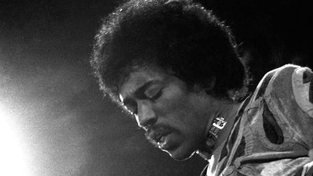 Guitar legend Jimi Hendrix who died 50 years ago this week . Picture: FILE/PRESS ASSOCIATION