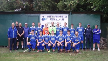 Westerfield United 2020/21 - already more points than last season. Photo: GORDON HOWES