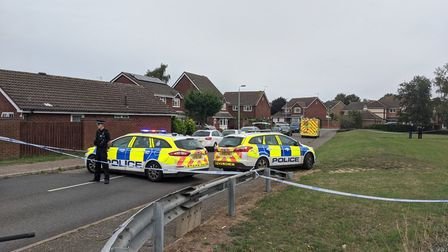 A 15-year-old boy was shot this morning in Grange Farm, Kesgrave. Picture: HOLLY HUME