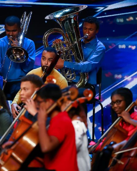 Three musicians from Felsted School, Sana, Charles and Shesh are through to the Britain's Got Talent