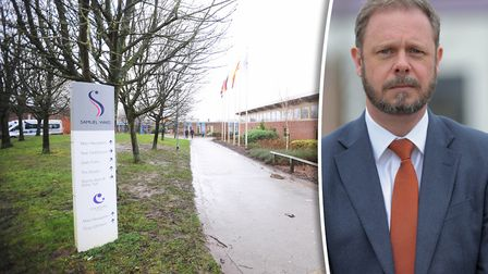 Eight staff members have tested positive for Covid-19 at Samuel Ward Academy in Haverhill. Headteach