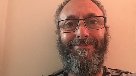 Steve Pike of Yoxford plans to let his beard grow until his 70th birthday in December 2021 Picture: