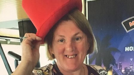 Steve Pike is raising money in memory of his third wife, Angela Picture: SUPPLIED BY STEVE PIKE