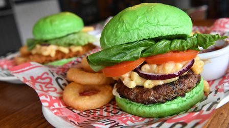 Sales of Greene King's new 'Greene Warrior' burger will support Macmillan's work with cancer patient