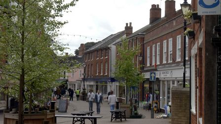 Halesworth town centre has been closed to traffic during several hours of the day to prevent the spr