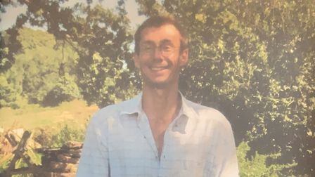 Police are concerned for missing man Simon Gibbs Picture: SUFFOLK CONSTABULARY